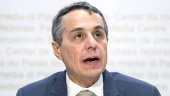 Aussenminister Ignazio Cassis präsentierte am Donnerstag die aussenpolitische Strategie des Bundesrates für die nächsten vier Jahre.