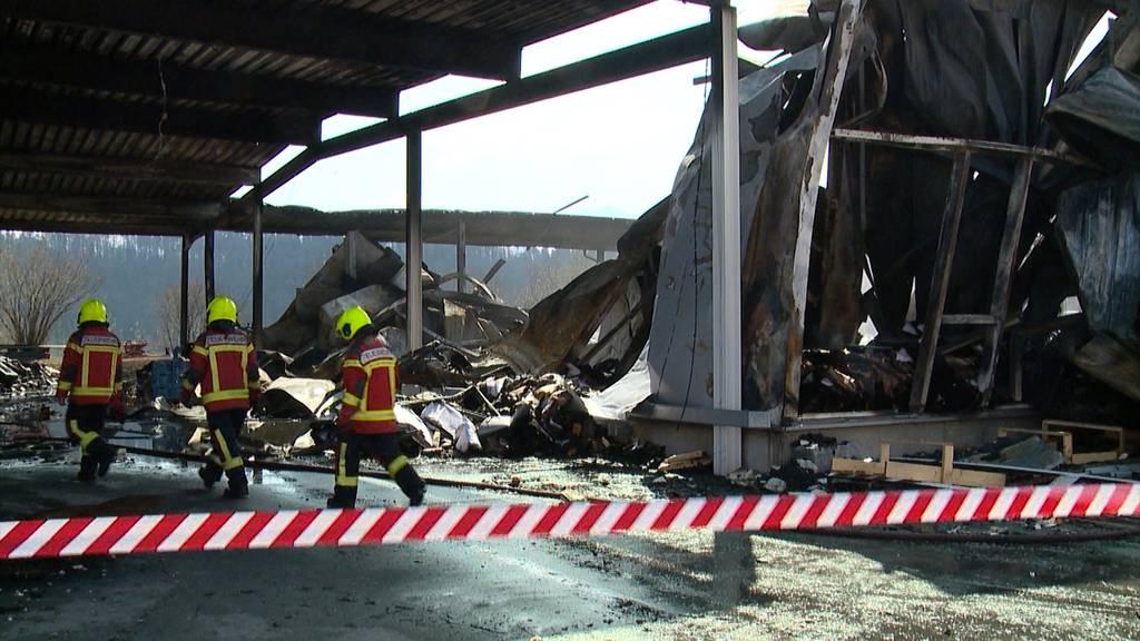 Millionenschaden nach Brand in Schmerikon