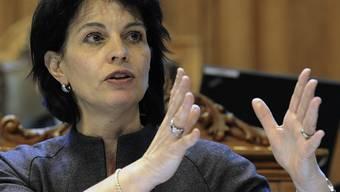 Die Schweiz - Umweltministerin Doris Leuthard - präsidiert die Alpenkonvention (Archiv)