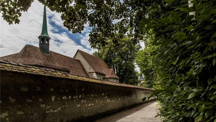 Der Zahn der Zeit nagt auch hinter Mauern: Kapuzinerkloster Solothurn.