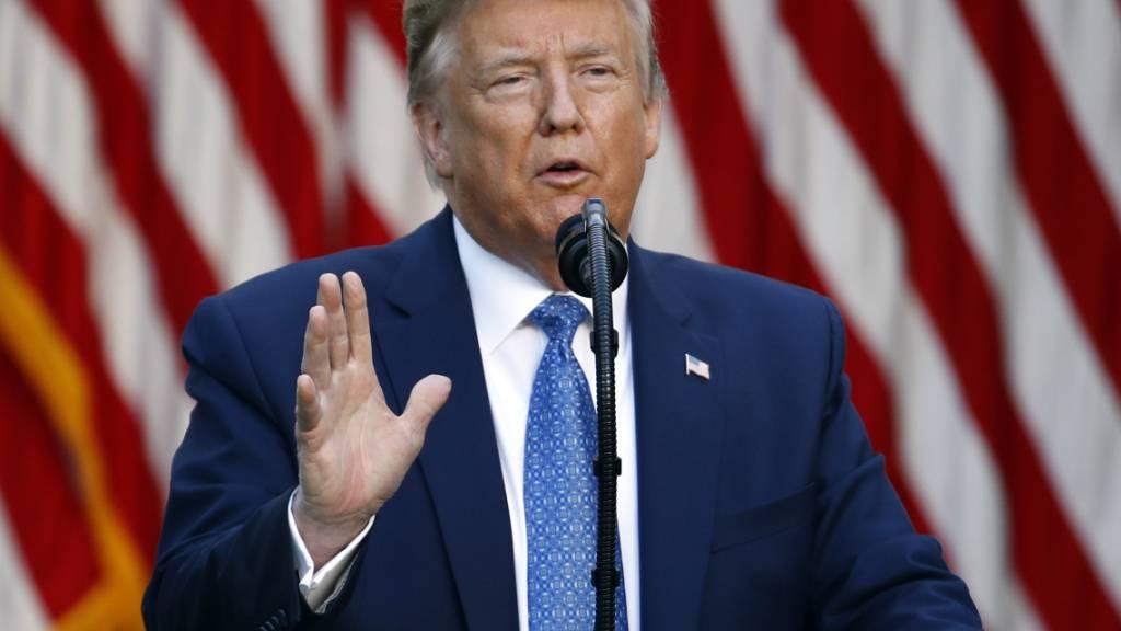 Trump droht mit Militäreinsatz zum Stopp von Protesten