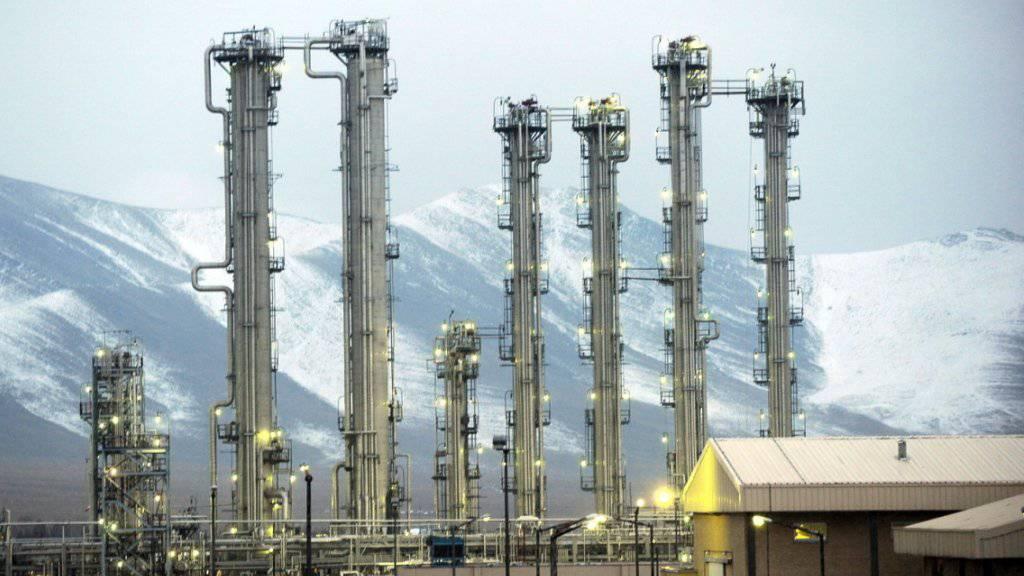 Der Schwerwasserreaktor in Arak - der Irak hat ihn nach eigenen Angaben gestoppt. (Archiv)