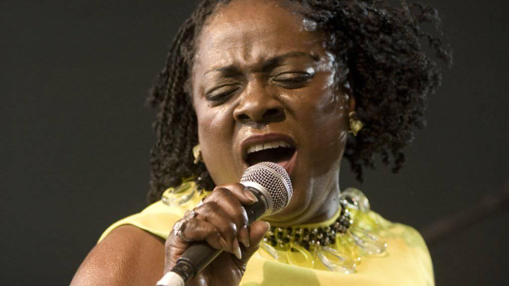 Kampf gegen den Krebs verloren: Sängerin Sharon Jones stirbt 60-jährig. (Archivbild)