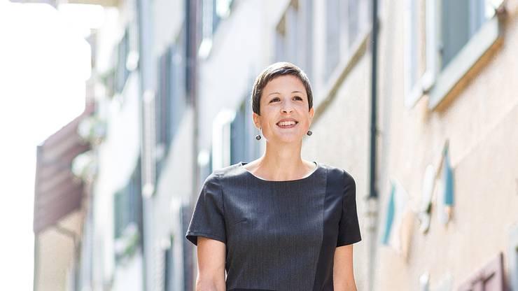 September 2017: Mit 17 Stimmen Vorsprung auf Karin Bächli (SP) schafft die Parteilose Sandra Kohler den Sprung in den Badener Stadtrat.