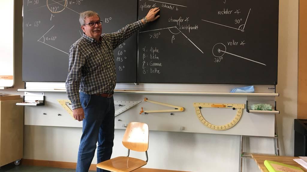45-jähriges Jubiläum: Er ist der wohl dienstälteste Lehrer der Schweiz