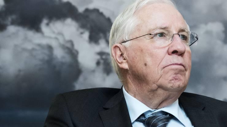 Christoph Blocher erklärt sein Scheitern in Basel.