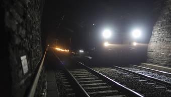 SBB-Zug im Tunnel.(Symbolbild)