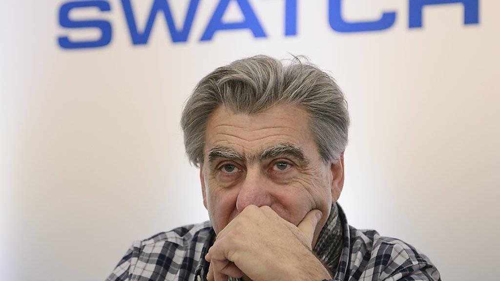 Schlechtes erstes Halbjahr für Swatch-Chef Nick Hayek. (Archivbild)