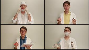 Ärzte, Köche, Musiker: Daniel Mentes leiht ihnen seine Stimme.