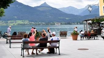 Das berühmte Hotel Weisses Rössl in St. Wolfgang am Wolfgangsee: Auch hier hat Corona zugeschlagen.