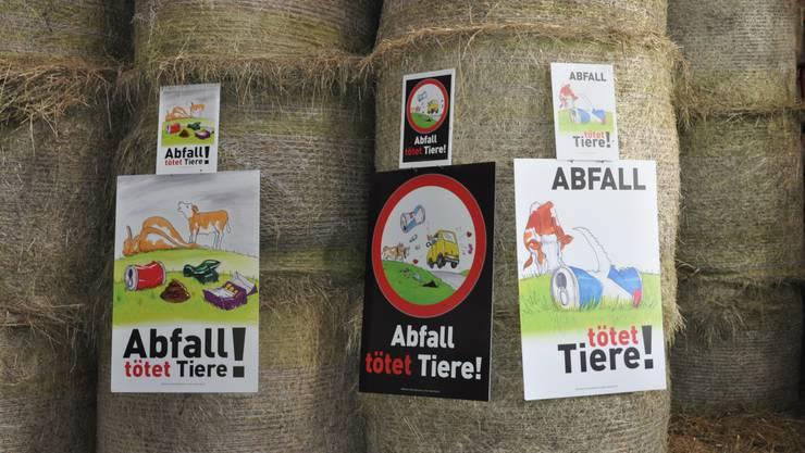 Mit diesen Plakaten warb der Solothurner Bauernverband