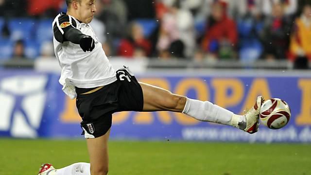 Zamora gegen die Schweiz dabei