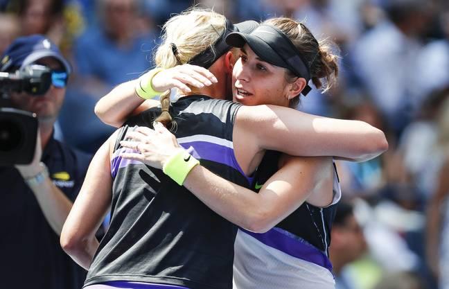 Die 22-jährige Ostschweizerin gewann einen hart umkämpften Viertelfinal gegen die ein Jahr ältere Kroatin Donna Vekic (WTA 23) 7:6 (7:5), 6:3.
