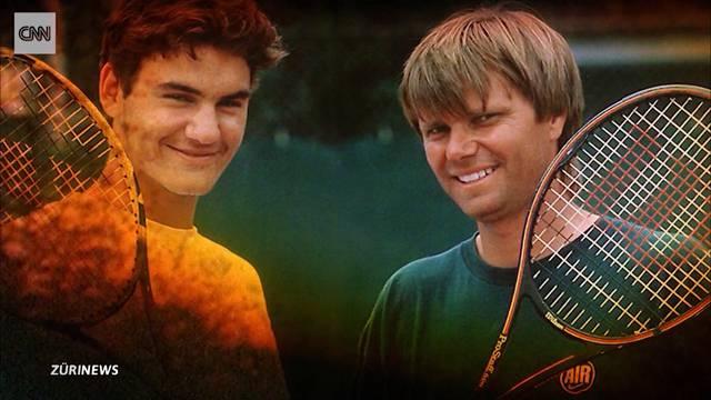 Roger Federer bricht in Tränen aus