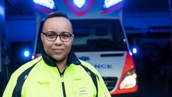 Pascal Rey (21) arbeitet in Assistenzfunktion für private Rettungsdienste in der ganzen Schweiz.