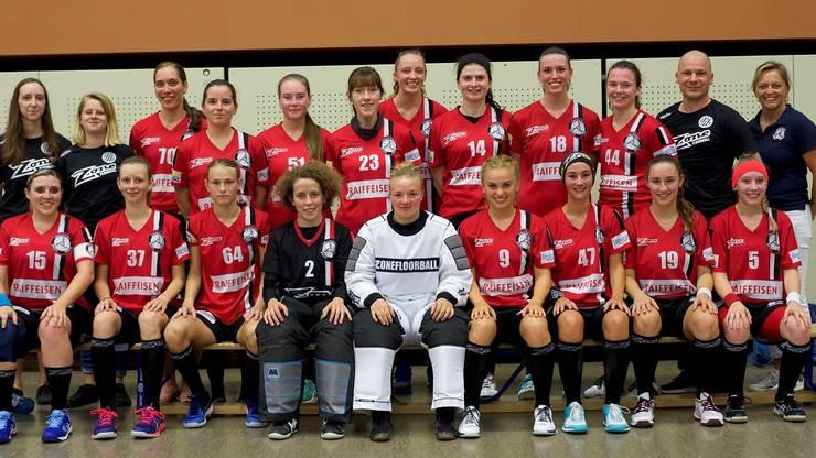 Das Unihockey Basel Regio Frauen Team