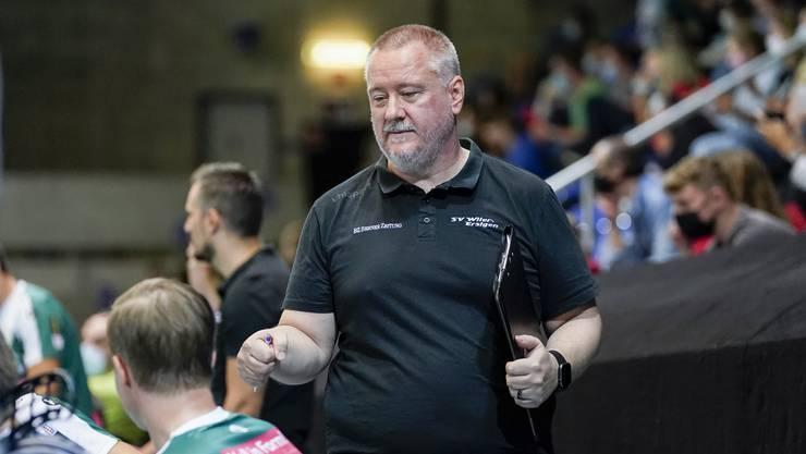 Wiler-Ersigen-Coach Thomas Berger hofft, bals wieder Ernstkämpfe bestreiten zu können.