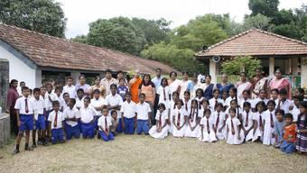 Bessere Bedingungen: Im sri-lankischen Pinnakkalewatta findet künftig auch bei Regen Unterricht statt – dies ermöglicht die Renovation. (zvg)