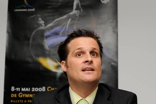 Felix Stingelin, Chef Leistungssport beim Schweizer Turnverband.
