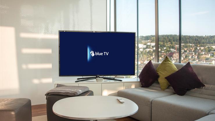 Swisscom TV wird künftig «blue TV» heissen.