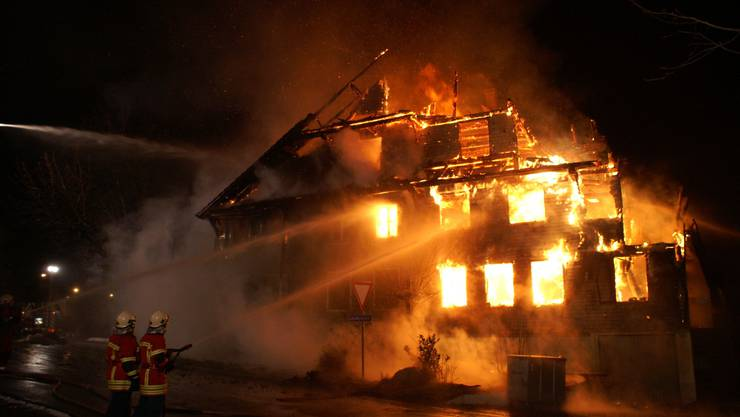 Brand in Boswil