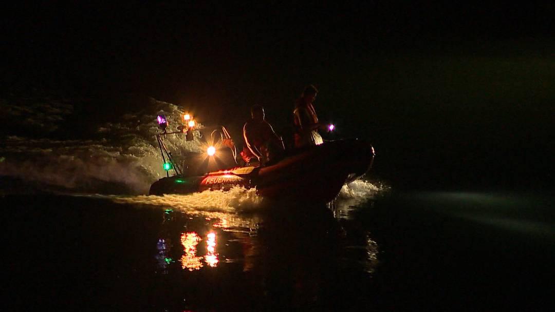 Mann wollte Freund retten: Zwei Männer im Rhein vermisst