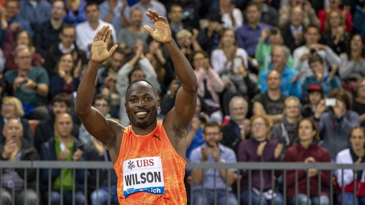 Alex Wilson: Der schnellste Mann der Schweiz kommt nach Aarau.