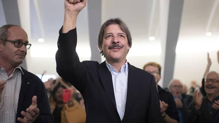 Zum dritten Mal in Folge gewinnt Paul Rechsteiner (SP) einen zweiten Wahlgang um einen der beiden St. Galler Ständeratssitze.