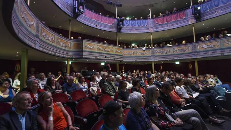 Eröffnung der 37. Solothurner Literaturtage im Stadttheater