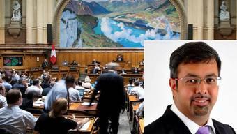Nik Gugger tritt als EVP-Nationalrat für den Kanton Zürich die Nachfolge von Maja Ingold an.