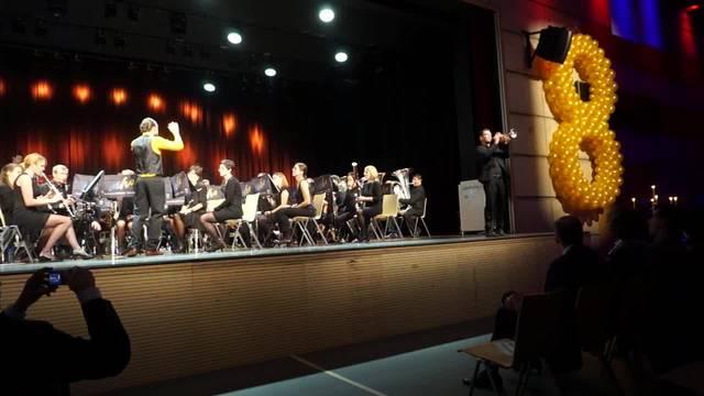 What a wonderful World spielt der Musikverein Harmonie Schlieren mit den beiden Solisten Markus Otto (Trompete) und Roger Doldt (Posaune)