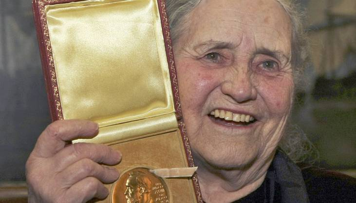 Sie war bereits 88 als sie den Literatur-Nobelpreis erhielt. Ihre Bekanntheit vermochte der Preis bis zu ihrem Tod 2013 kaum mehr weiter zu steigern. Musste er auch nicht. Lessing war längst unter den Klassikern angekommen.
