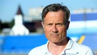 Alex Miescher wird nach seinem Ende beim Fussballverband Berater.