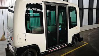 Anfang nächster Woche geht es raus aus der Garage: die Verkehrsbetriebe Bernmobil testen erstmals ein selbstfahrendes Shuttle.