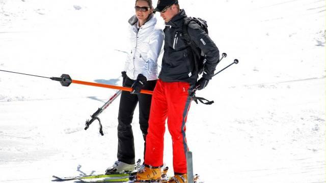 Kein Skiferien für den Duke und die Duchess of Cambridge. az