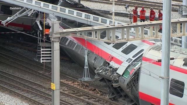 Zugentgleisung Luzern: Wieso so lange Bahnhof schliessen?