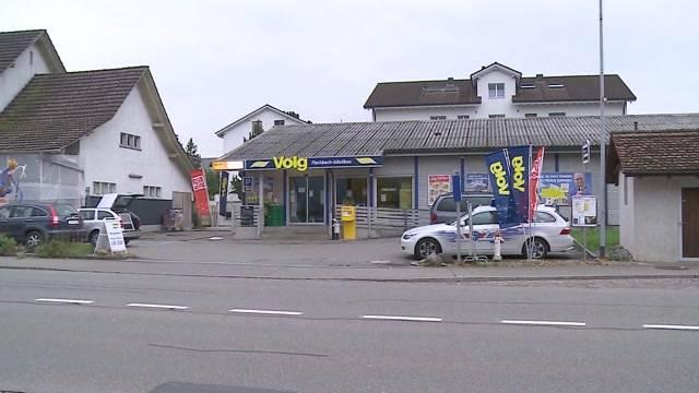 Überfall auf den Volg in Fischbach-Göslikon.