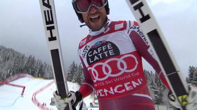 Aksel Lund Svindal gewinnt am Lauberhorn