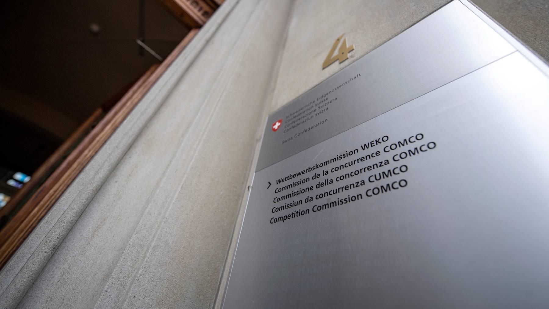 Die Weko hat im Jahr 2019 rund 12 Verfahren abgeschlossen.