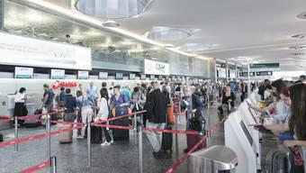 Das Terminal 1 im Flughafen Zürich soll ab 2021 komplett neu gebaut werden.