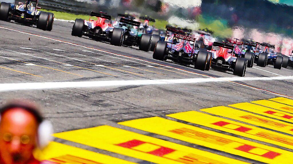Das nächste Sprintrennen findet in Monza statt, wie die Formel 1 bestätigt hat