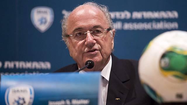 FIFA-Präsident Sepp Blatter steht hinter dem Zürcher Stadionprojekt