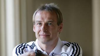 Jürgen Klinsmann, deutscher Fußballtrainer und ehemaliger Fußballspieler, im Trainingslager des FC Bayern München, Stadt Dubai, Emirat Dubai, 07.01.2009. © 2009 Tina Hager / Agentur Focus