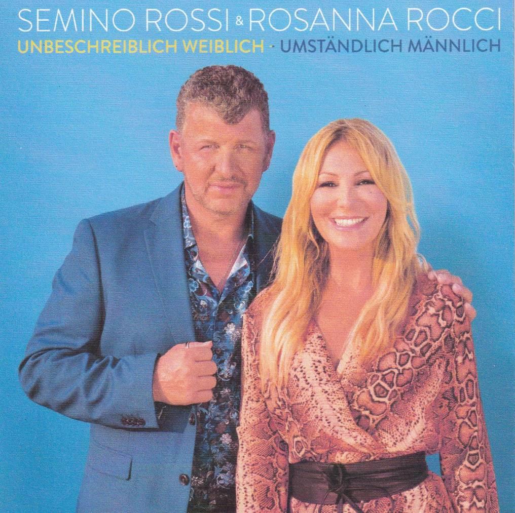 Platz 1 - Semino Rossi und Rosanna Rocci - Unbeschreiblich Weiblich Umständlich männlich