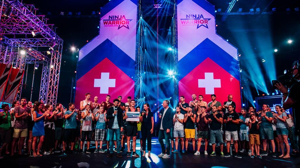 Erlebe «Ninja Warrior Switzerland» im Hallenstadion