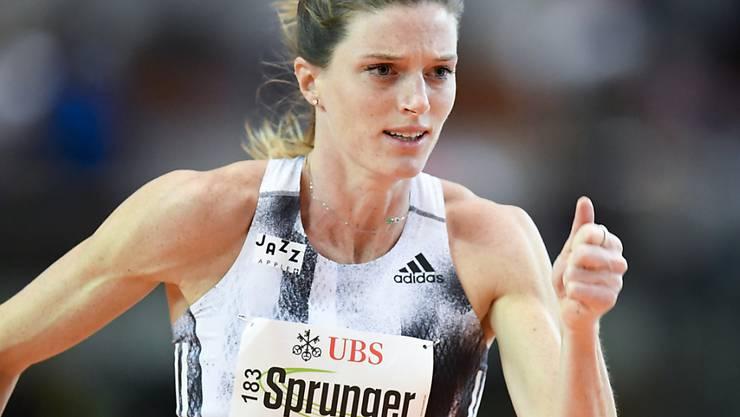 Lea Sprunger erreicht in Yokohama mit der 4x400-m-Staffel der Frauen den Final