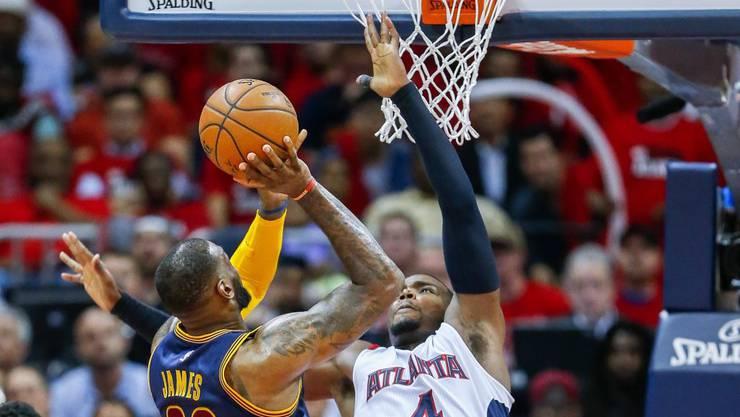 LeBron James führte Cleveland gegen Atlanta zum Sieg
