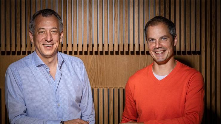 Kairos-Gründer: Inhaber Daniel Schwendimann (l.) und Schulleiter Marc Schneider.