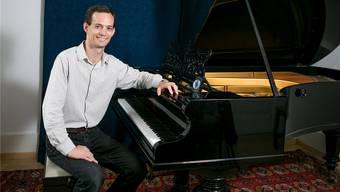 Der Pianist Jason Paul Peterson lebt in Ennetbaden und hat schon die grössten Bühnen der Welt bespielt, zum Beispiel die Carnegie Hall in New York. Sandra Ardizzone