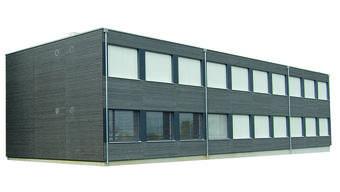 Dieser Schulpavillon steht seit 2014 in Boniswil im Bezirk Lenzburg – in Klingnau wird ein sehr ähnlicher zu stehen kommen